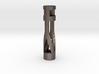 Steel Keychain 3d printed