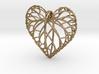 Viola leaf heart 3d printed
