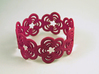 Flower Bracelet (closed) 3d printed