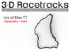 Isle of Man TT - Road Course | Small 3d printed