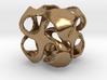 Cuboid pinwheel pendant 3d printed