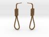 Halloween Hanging Rope Earrings 3d printed