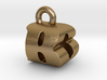 3D Monogram Pendant - BOF1 3d printed