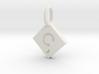 SCRABBLE TILE PENDANT C 3d printed