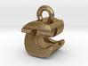 3D Monogram Pendant - CZF1 3d printed