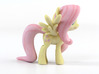 My Little Pony - Fluttershy (≈65mm tall) 3d printed