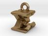 3D Monogram Pendant - EXF1 3d printed