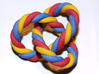 Braided Trefoil Color 3d printed