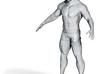 Makehuman man testing 3d printed