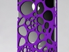 IPhone 4/4S - Cell Case 3d printed Purple Polyamide