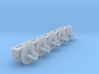 HO: 5x R-W Signal Lamp Swe Railroad whit lens 3d printed