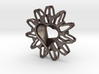Twisted Chisel Pendant 3d printed