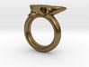 Skull Ring D20 3d printed