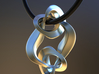 Double Knot Pendant 35mm 3d printed
