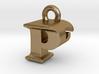 3D Monogram Pendant - PFF1 3d printed