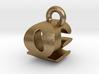 3D Monogram - QGF1 3d printed