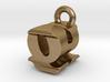 3D Monogram - QHF1 3d printed
