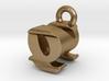 3D Monogram - QNF1 3d printed