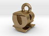 3D Monogram - QRF1 3d printed
