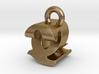 3D Monogram - QZF1 3d printed
