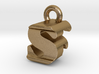 3D Monogram - SFF1 3d printed
