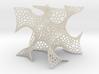 Cubic Gyroid (Voronoi) 3d printed