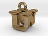 3D Monogram - UNF1 3d printed