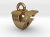 3D Monogram - VGF1 3d printed