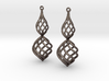 Posh Big Earrings 50mm 3d printed