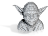 master yoda lopoly 3d printed
