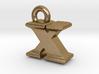 3D Monogram - XIF1 3d printed