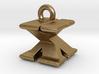 3D Monogram - XXF1 3d printed