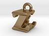 3D Monogram - ZEF1 3d printed