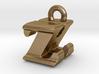3D Monogram - ZHF1 3d printed
