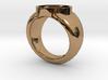 Indigo Lantern Ring 3d printed