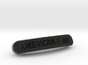 AMERICAN FEAR Nameplate for SteelSeries Rival 3d printed