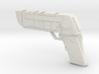 Futuristic handgun Concept 3d printed