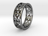 Simple Fractal Ring 3d printed