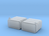 """1/87th HO Scale 24"""" square fuel tanks 3d printed"""