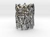 Personalized Tree Bark Pendant 3d printed