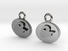 Phantom Of The Opera Earrings 3d printed