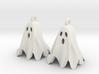 Ghost Earrings 3d printed