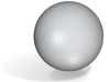 HP Ball 3d printed