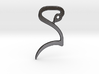"BioSpawn ""S"" Logo Keychain 3d printed"