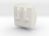 Bionicle - Nuva Symbol - Fire 3d printed