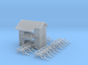 Saw Mill Out Building Z Scale 3d printed Saw Mill Out Building 1 Z scale