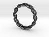 Optical Illusion Ring 3d printed