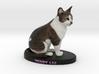 Custom Cat Figurine - Teddy Liu 3d printed