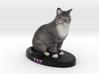 Custom Cat Figurine - Taz 3d printed