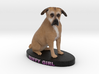 Custom Dog Figurine - Buffy 3d printed